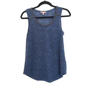 [JUICYCOUTURE] Embellished crystal sleeveless top